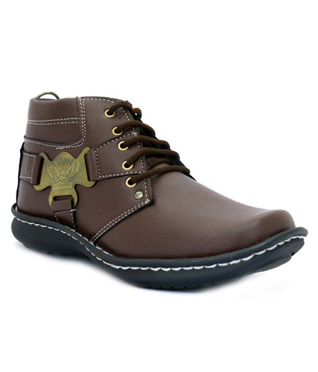 Willpower Brown Boots