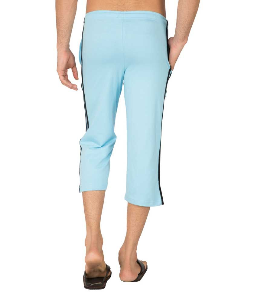 Clifton Fitness Men's Capri- Light Blue