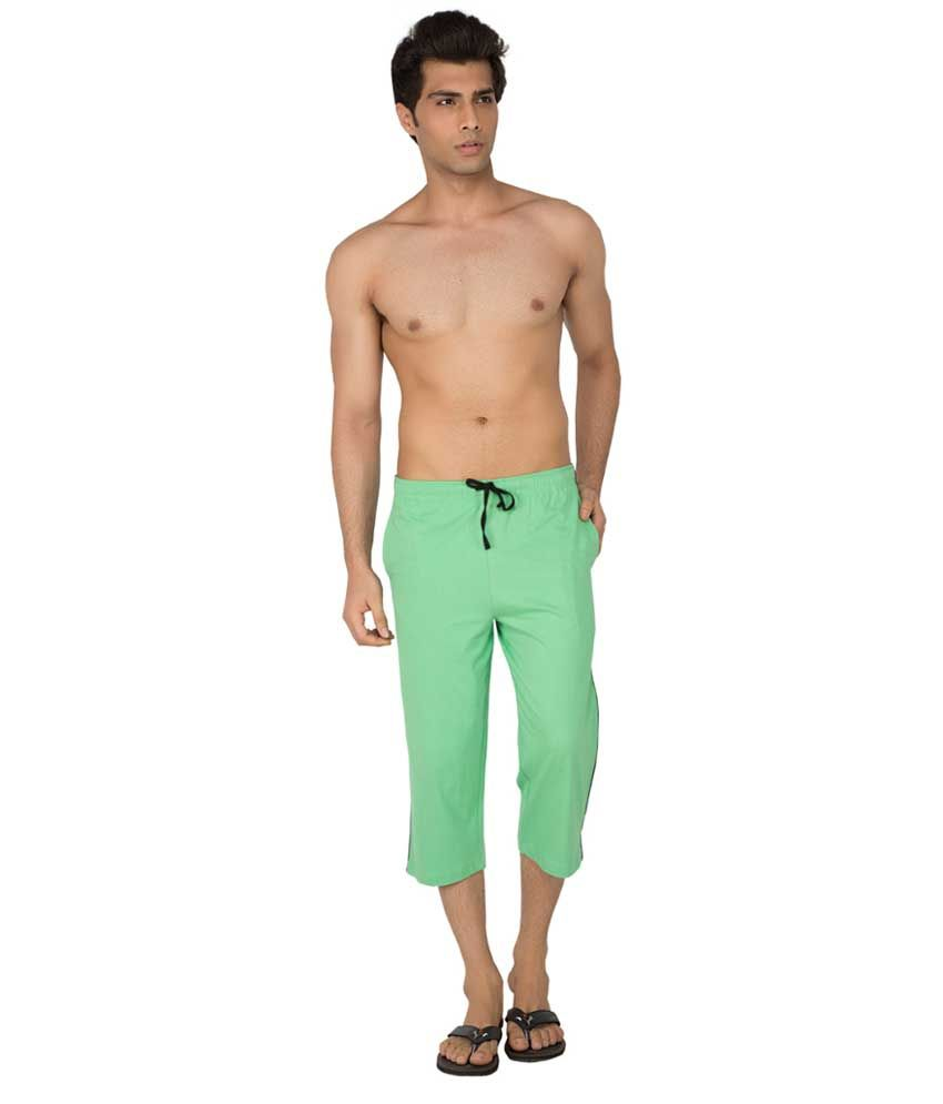 Clifton Fitness Men's Capri- Zeal Green