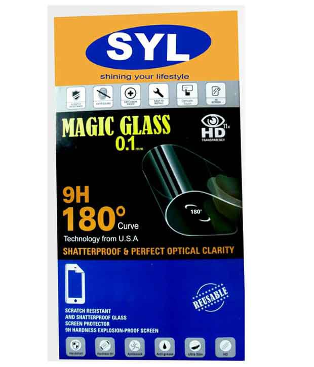 One Plus X Tempered Glass Screen Guard by SYL
