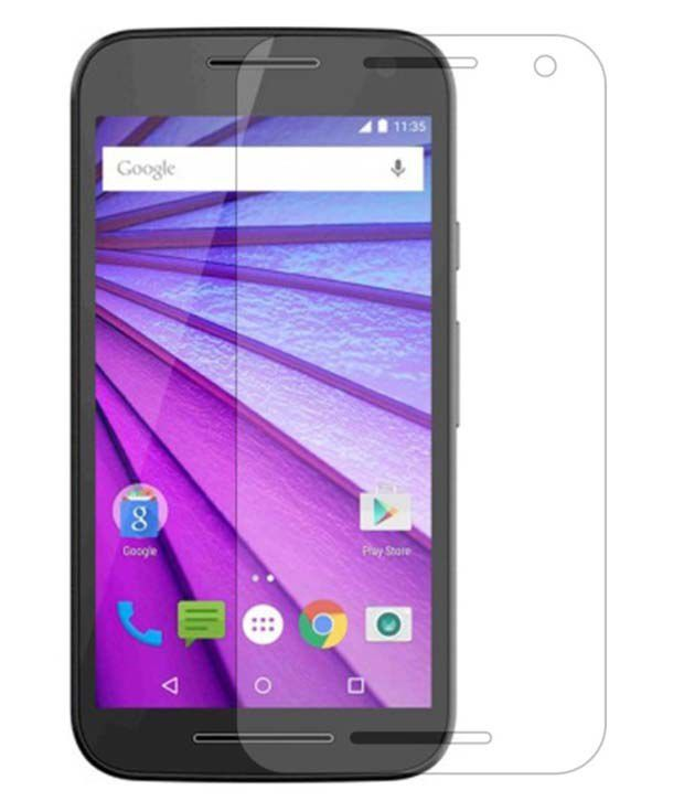 Motorola Moto G Turbo Edition Tempered Glass Screen Guard by Buynow