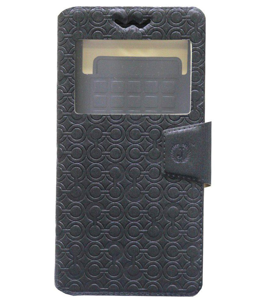 Jo Jo Flip Cover For HTC Desire 828 Dual SIM-Black
