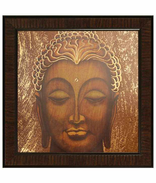 SAF Multicolour Religious Painting with Wooden Frame