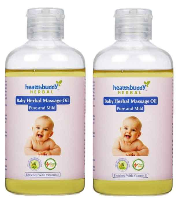 Healthbuddy Healthbuddy Herbal Baby Massage Oil