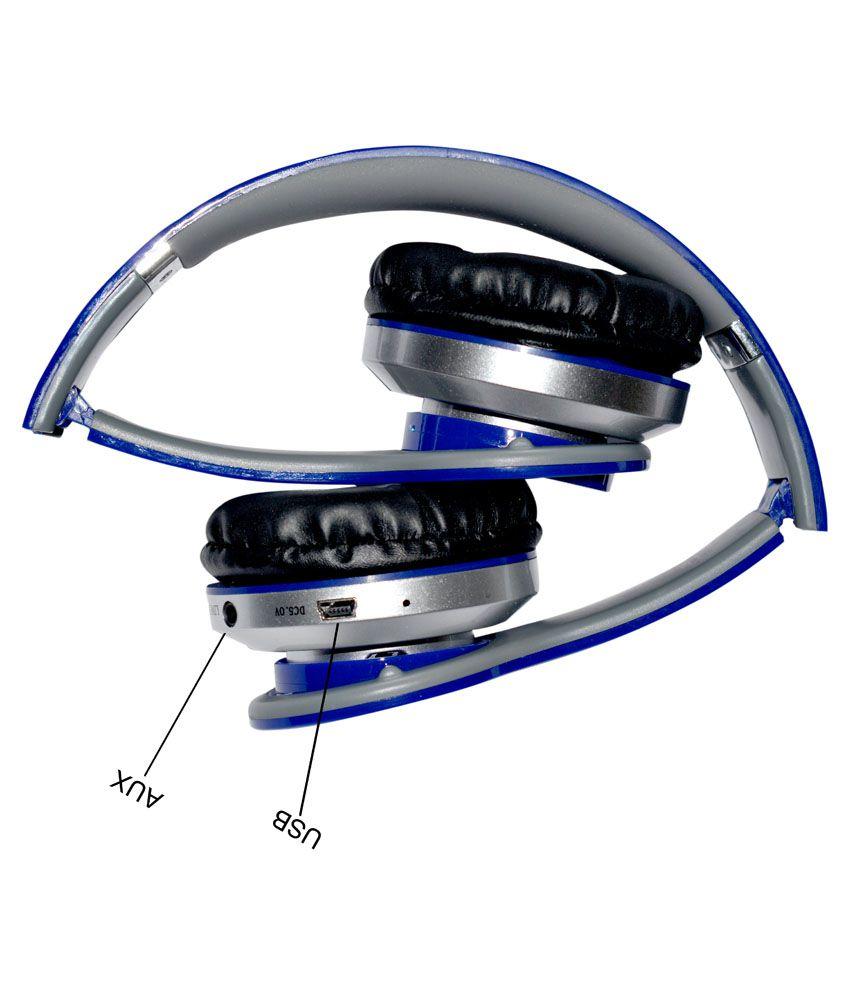 Buy Acid Eye Wireless Bluetooth Headphone Blue Online At Best Price Headset Musik Stereo Beats S450