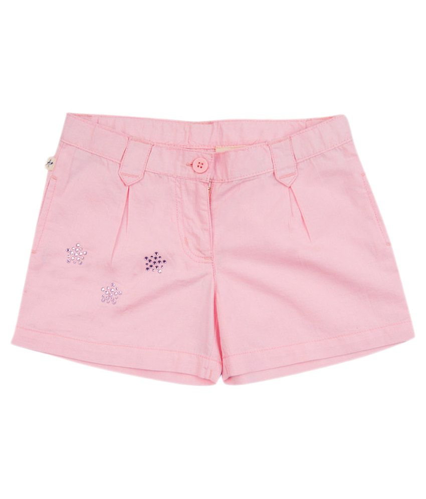 Aristot PeachPuff 100% Cotton Shorts for kids girls