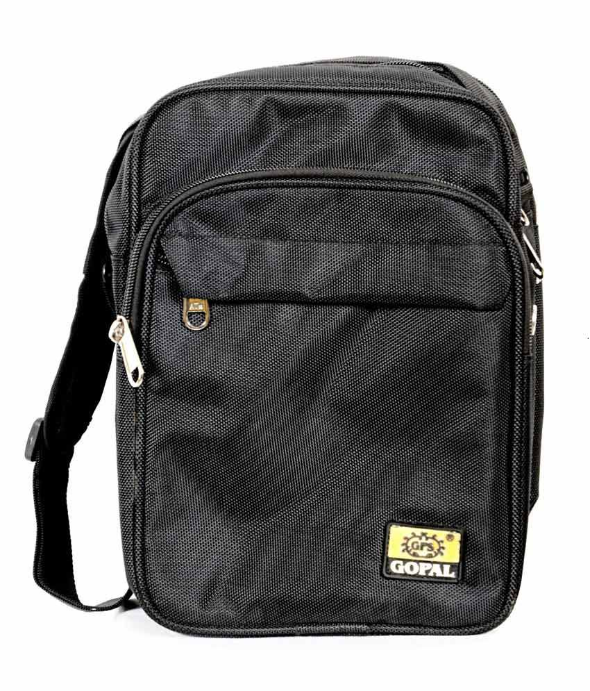 Oshop Trades Black Laptop Bag
