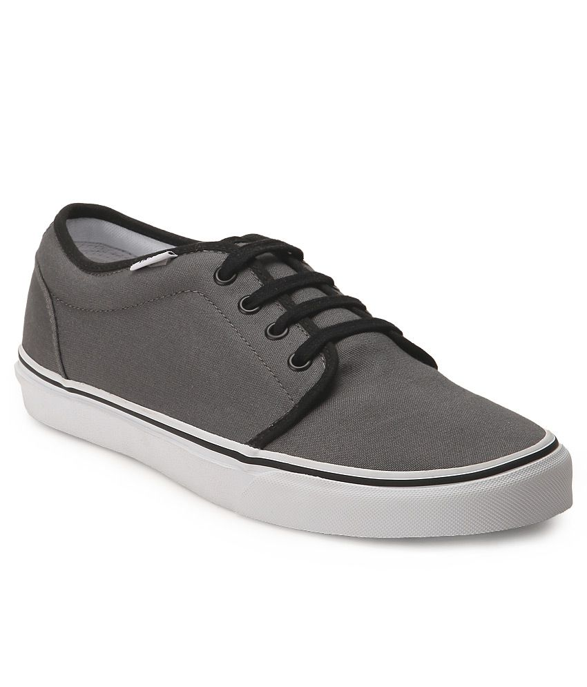 17251882aa Vans 106 Vulcanized Gray Canvas Casual Shoes - Buy Vans 106 Vulcanized Gray  Canvas Casual Shoes Online at Best Prices in India on Snapdeal