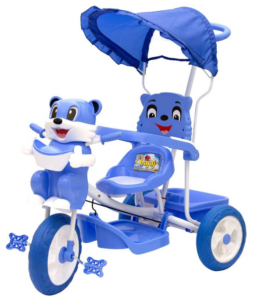Love Baby Blue White Tricycle Trike Cycles For Baby Kids
