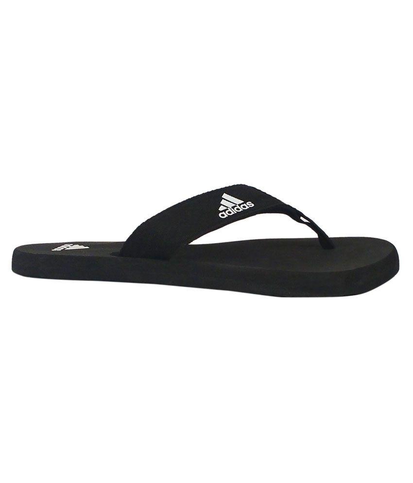 e85c693f7bab Adidas Black Slippers Price in India- Buy Adidas Black Slippers ...
