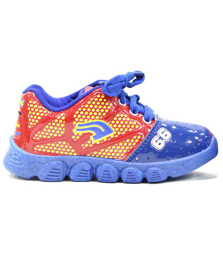 Buy Hyfex Blue Casual Shoes For Kids