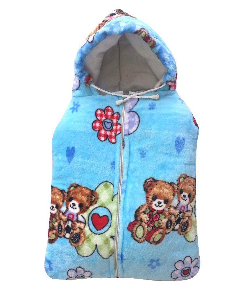 Aaaao Baby Multicolour Cotton Baby Sleeping Bag