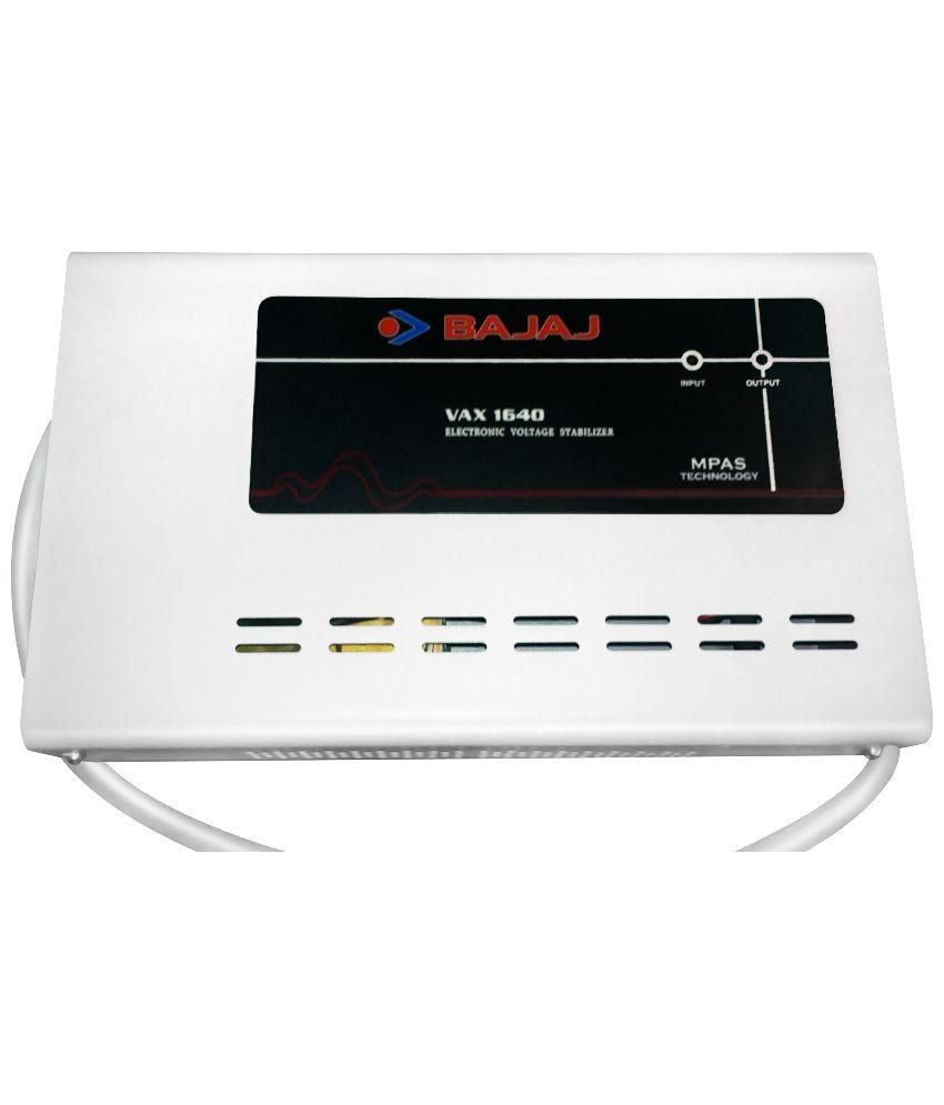 Bajaj VAX1640 Voltage Stabilizer
