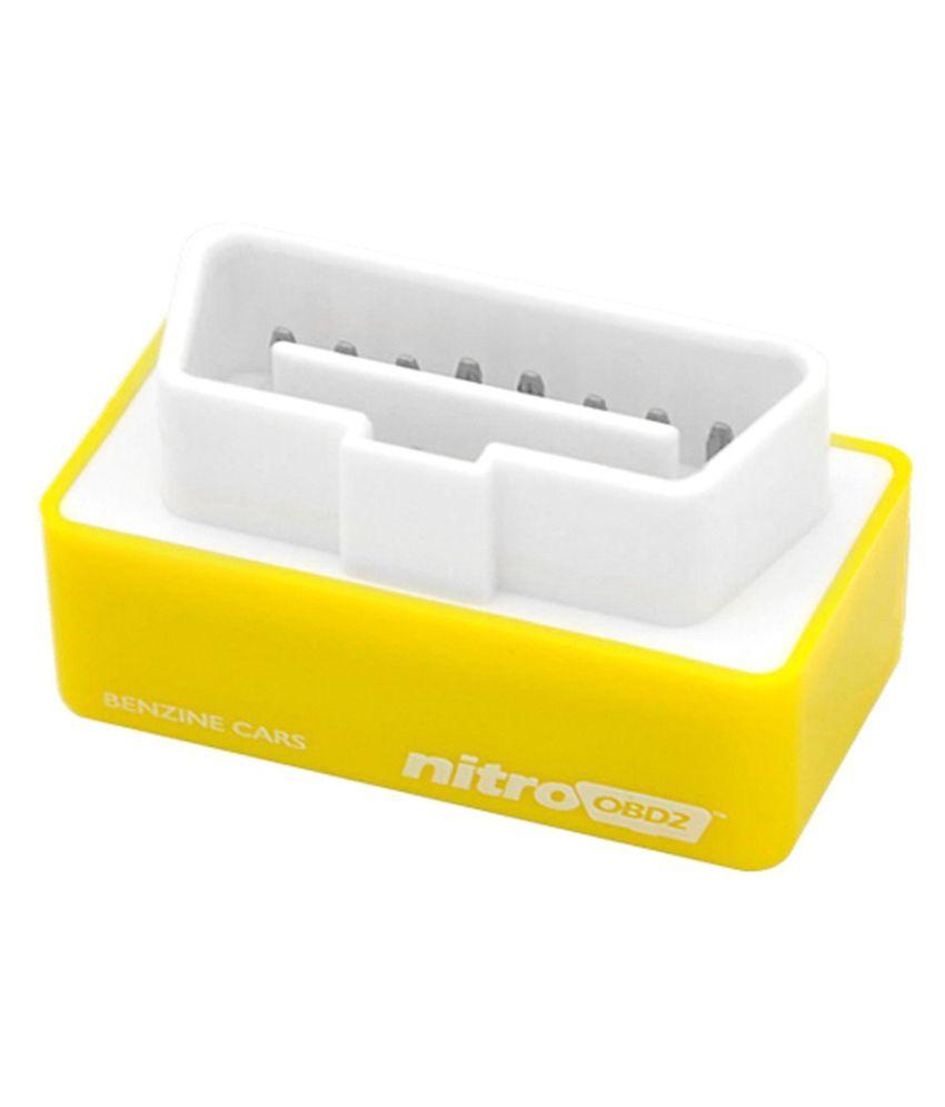 Nitro Petrol Car Power & Torque ECU Power Tuning Chip Yellow