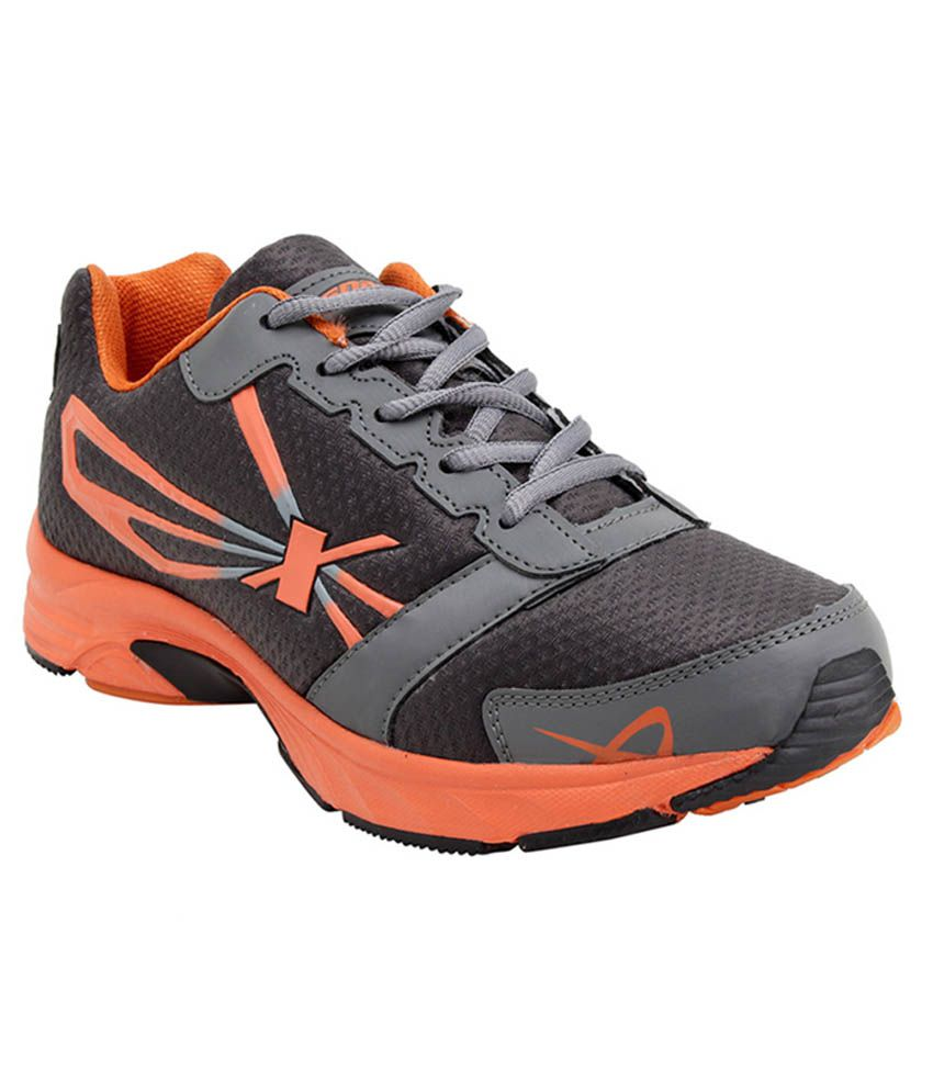 Sparx Gray Running Shoes