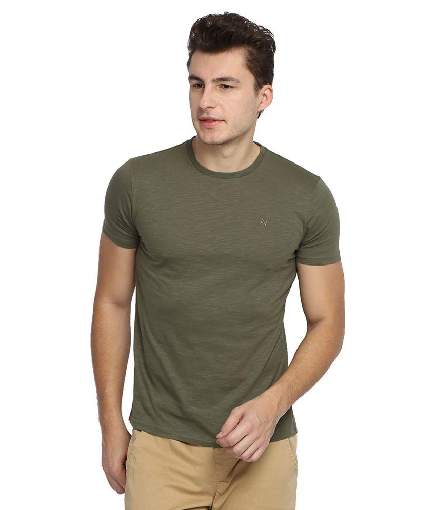 Antigravity Green Round T Shirts