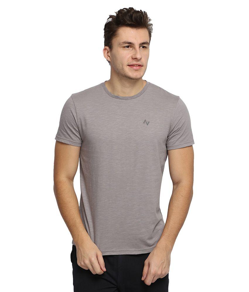 Antigravity Grey Round T Shirts
