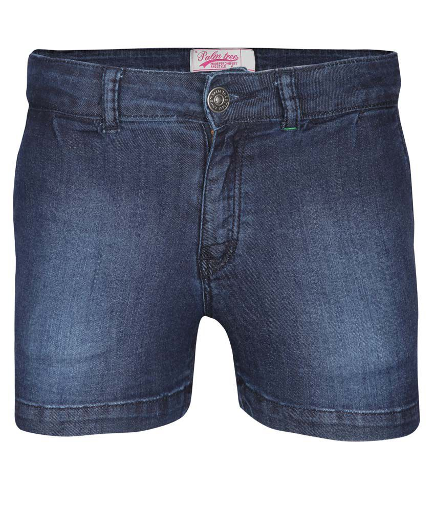Gini & Jony Blue Shorts