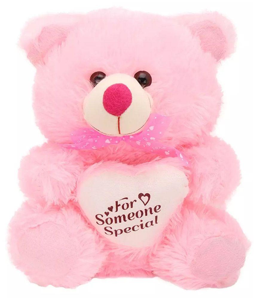 Kashish Toys Pink Teddy bear stuffed love soft toy for ...