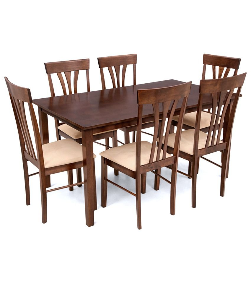 Prudence 6 Seater Dining Setdining Tabledining Table Chair Sets