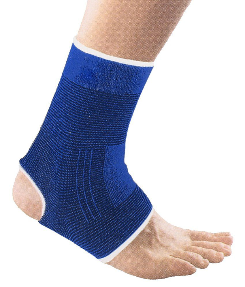 Atyourdoor Blue Ankle Supports
