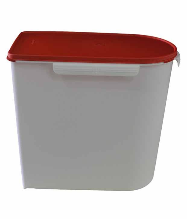 Tupperware White Red 24Kg Multikeeper Container Buy Online at