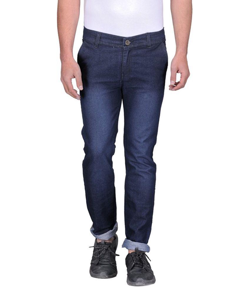 Urbano Fashion Blue Slim Fit Jeans