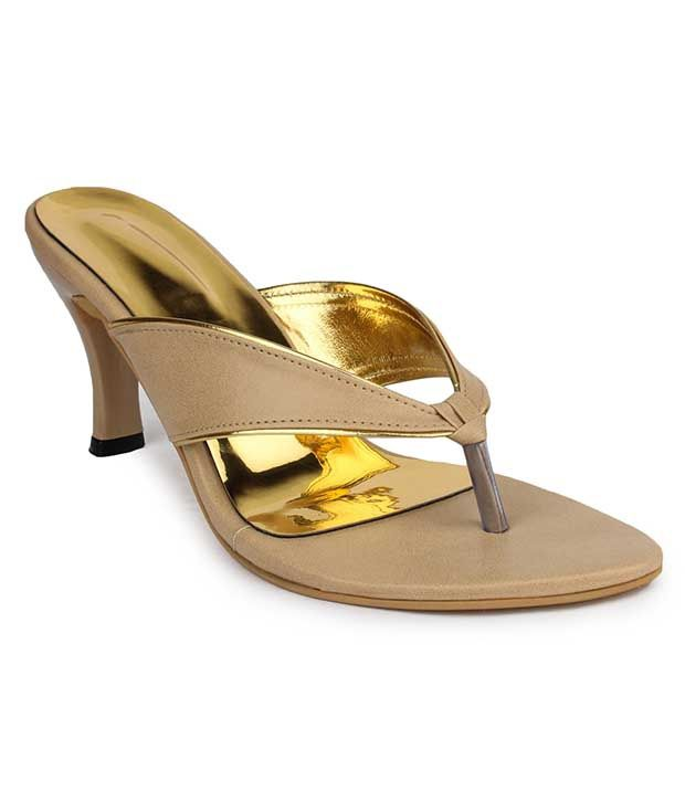 Do Bhai Beige Stiletto Heels Price In India Buy Online At Snapdeal
