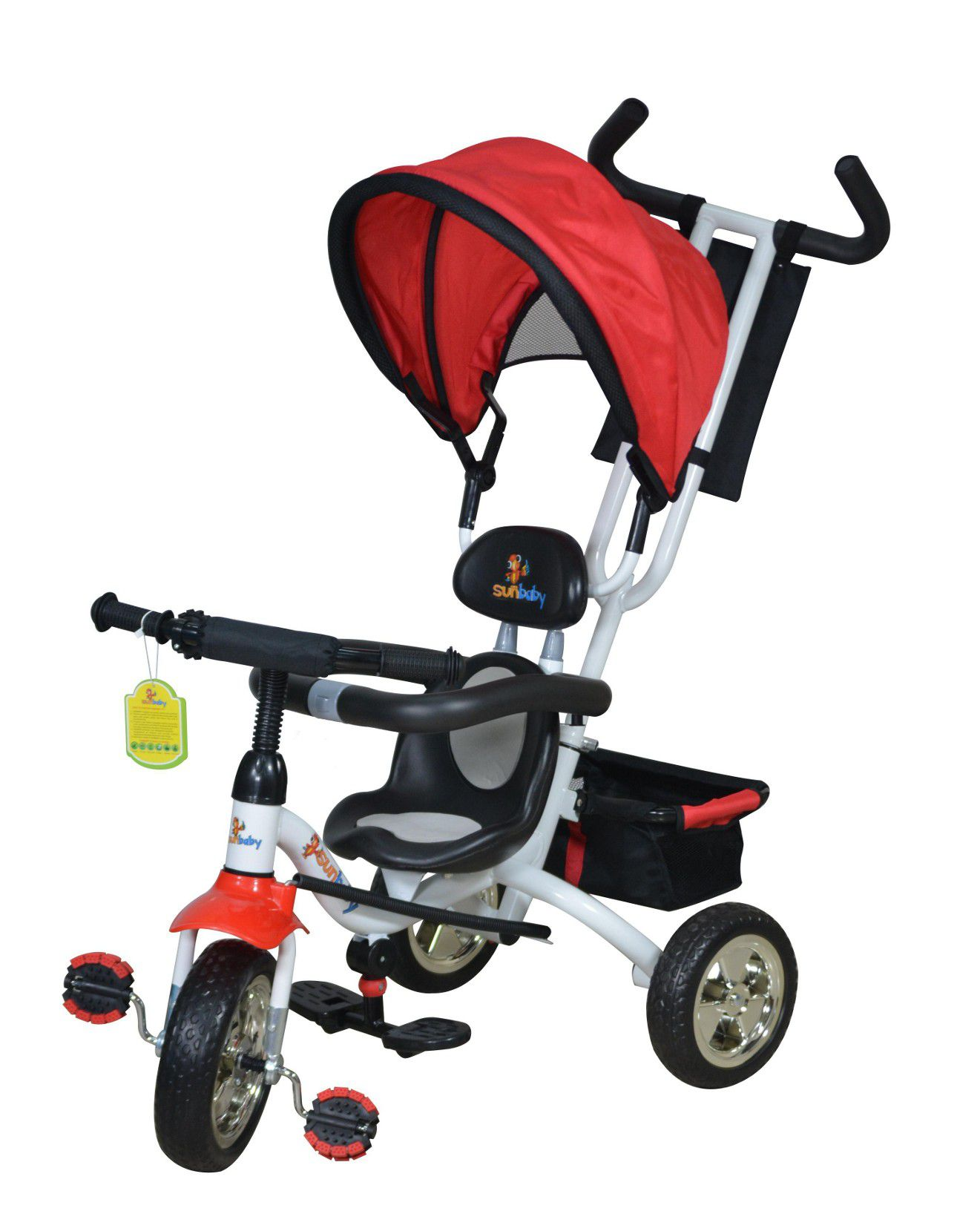 Sunbaby Multicolour Iron and Plastic Baby Tricycle