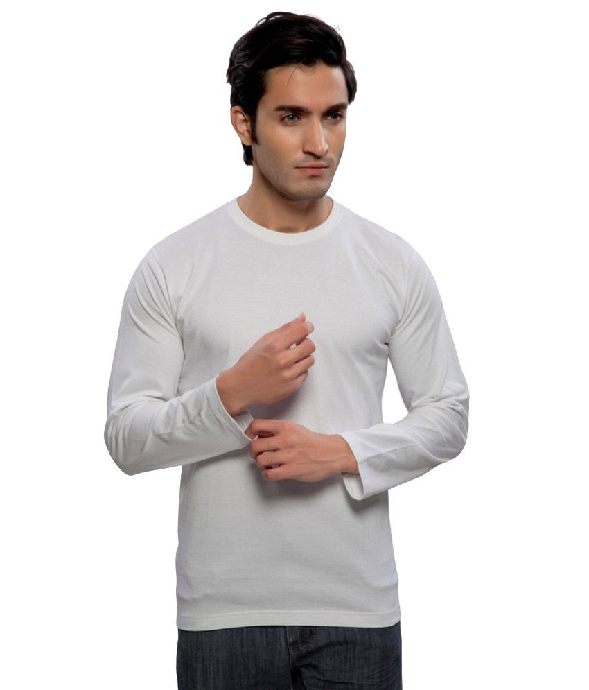 Clifton Fitness Men's Mustee Full Sleeve -White