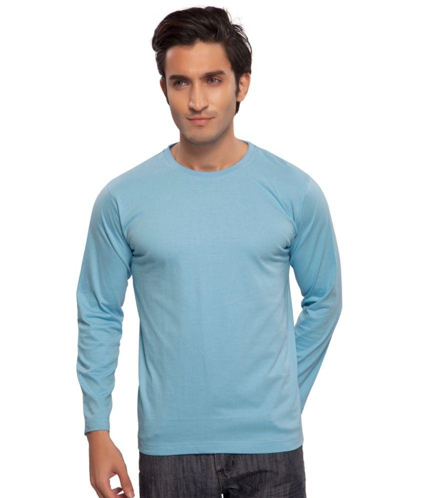 Clifton Fitness Men's Mustee Full Sleeve -Light Blue