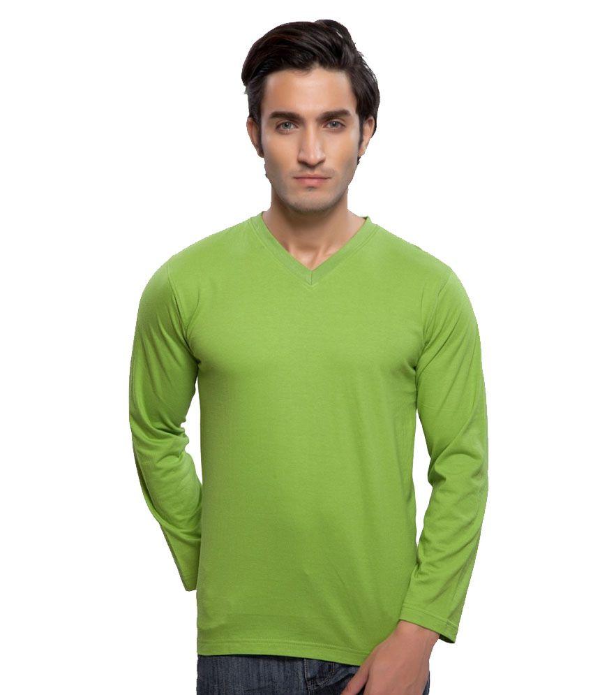 Clifton Fitness Men's Mustee Full Sleeve -Parrot Green