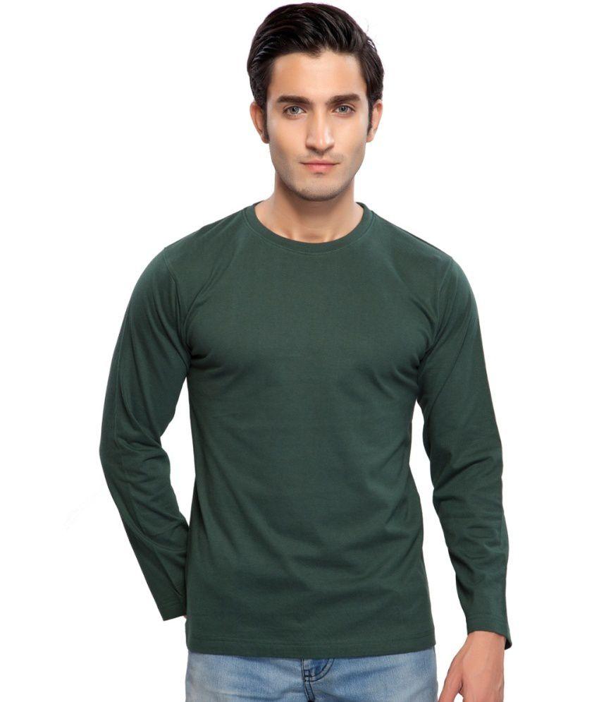 Clifton Fitness Men's Mustee Full Sleeve -Bottle Green