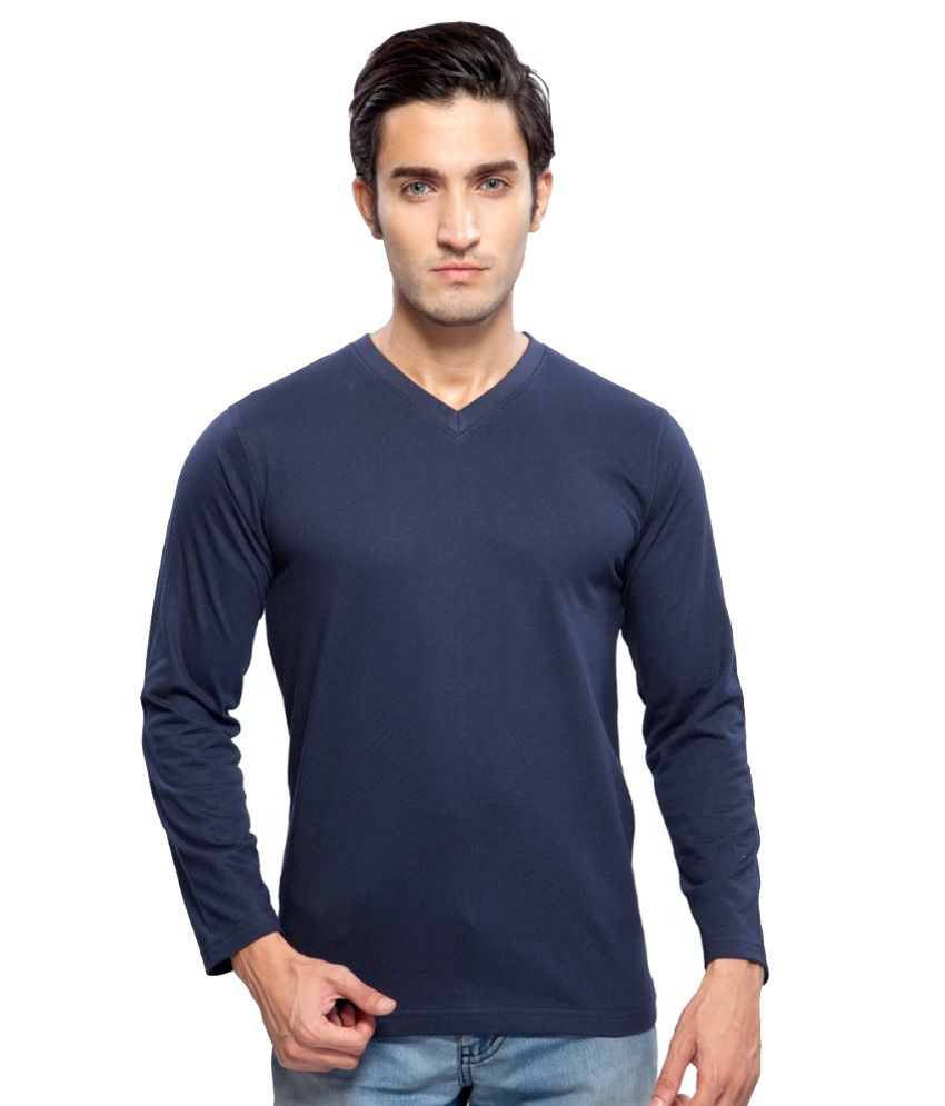 Clifton Fitness Men's Mustee Full Sleeve -Navy