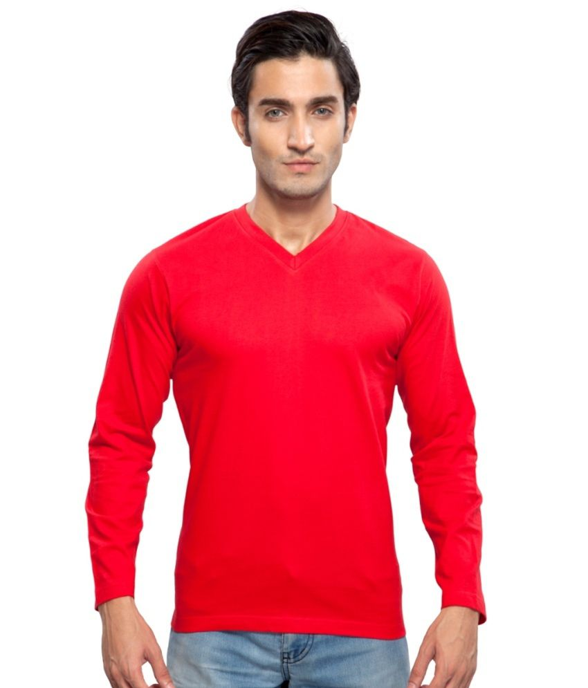 Clifton Fitness Men's Mustee Full Sleeve -Red