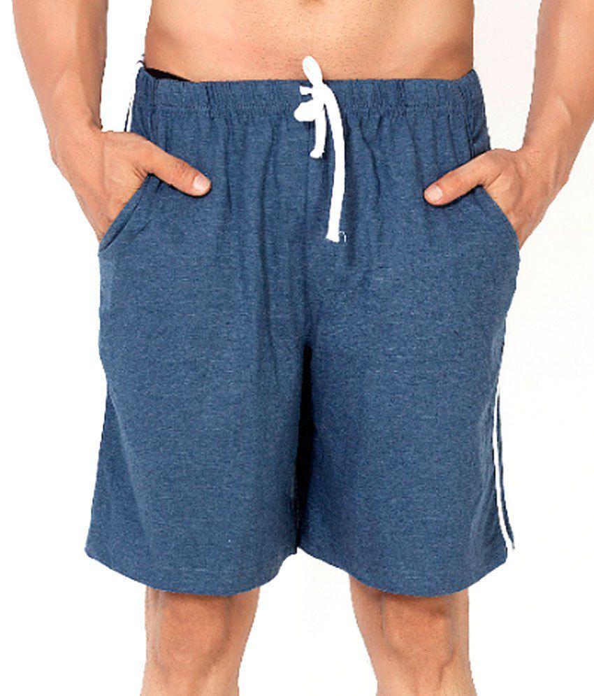 Clifton Fitness Men's Shorts -Navy Melange