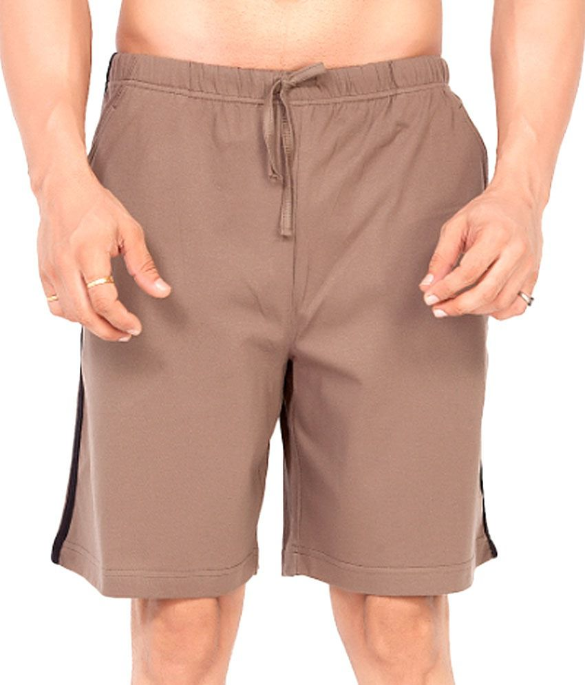 Clifton Fitness Men's Shorts -Walnut
