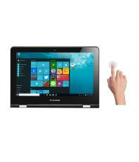 Lenovo Yoga 300 2-in-1 Laptop (80M0007KIN) (Intel Pentium- 4GB RAM- 500GB HDD-...