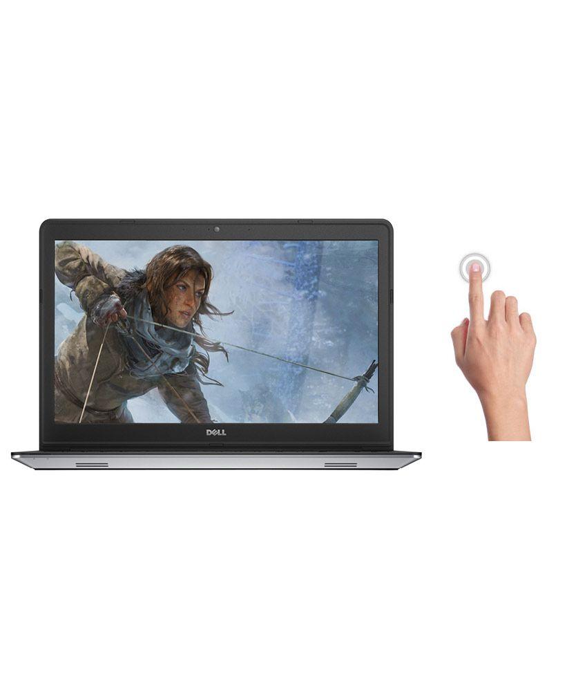 Dell Inspiron 5547 Touchscreen Laptop (4th Gen Intel Core i7- 8GB RAM- 1TB HDD- 39.62cm (15.6)- Win 8.1- 2GB Graphics) (Silver)