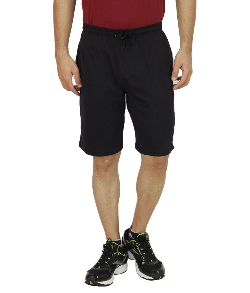 Ishmeet Black Shorts