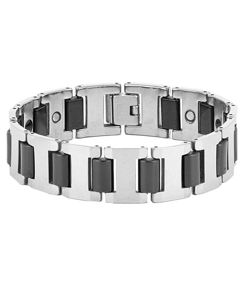 The Jewelbox Silver Designer Bracelet