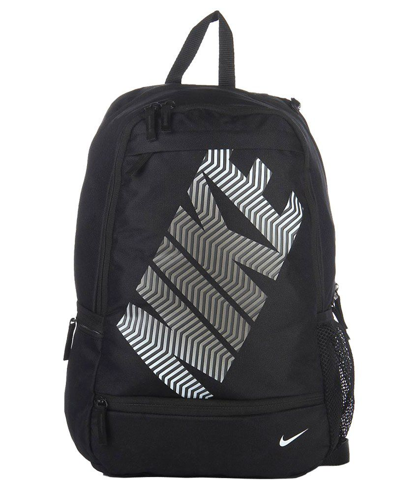 Nike Black Classic Line Polyester Backpack - Buy Nike Black Classic Line  Polyester Backpack Online at Low Price - Snapdeal 0acfde9627