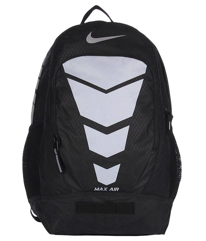 nike black max air vapor polyester backpack buy nike