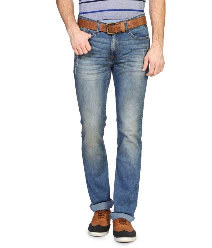 Van Heusen Blue Slim Fit Jeans