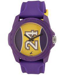 Fastrack Purple Analog Watch