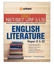 UGC NET/SET (JRF & LS) ENGLISH LITERATURE Paper II & III (Paperback) English Third Edition
