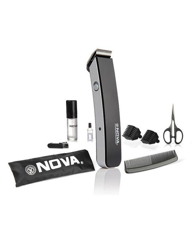 Nova NHT 1047-00 Black Trimmer For Men