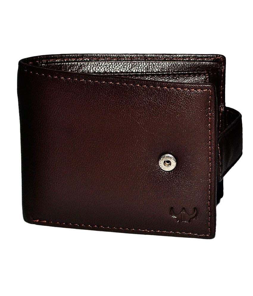 Dhide Designs Brown Leather Wallet for Men: Buy Online at ...