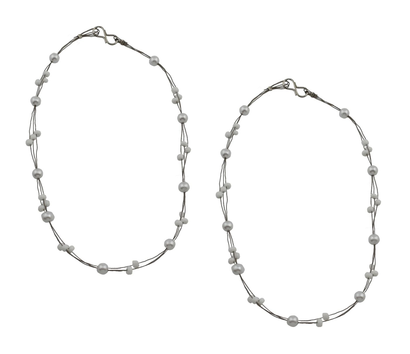 High Trendz Silver Designer Pair of Anklet