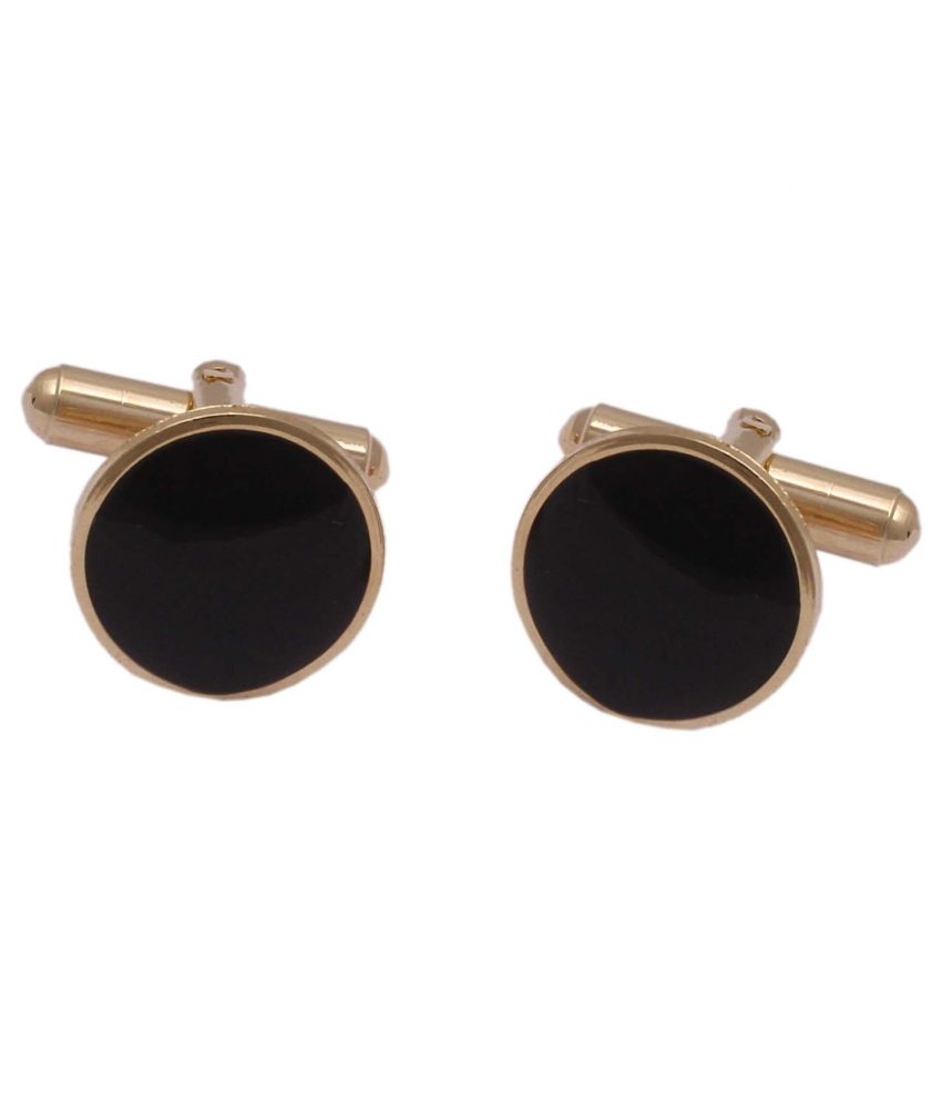 Jstarmart Golden Metal Cufflinks